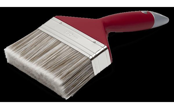 Кисть изогнутая для клеевой краски Anza Elite 120 мм 331120