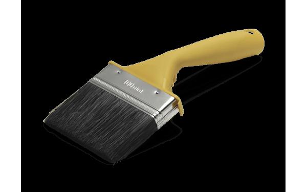 Кисть изогнутая для наружных работ Anza Basic 100 мм 313290