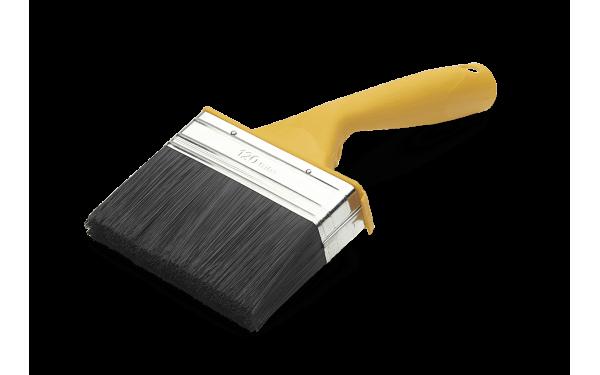 Кисть изогнутая для наружных работ Anza Basic 120 мм 313292