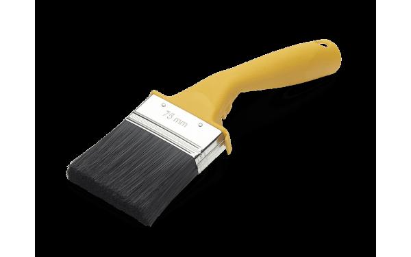 Кисть изогнутая для наружных работ Anza Basic 75 мм 313275