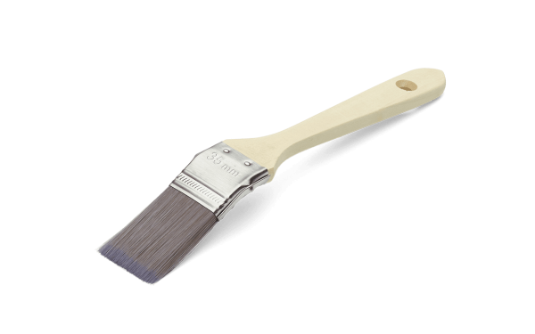 Кисть короткая изогнутая Anza Basic PRO 35 мм 122135