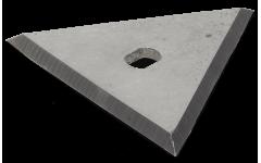 Запасные лезвия для треугольного скребка 80 мм Anza 662581