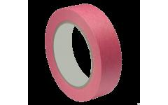 Малярная лента розовая для деликатных поверхностей 25 мм