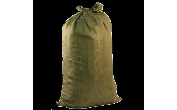 Мешок для строительного мусора тканый полипропиленовый (90х50 см)