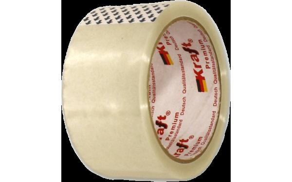 Скотч прозрачный KRAFT 50 мм х 66 м