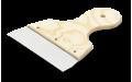 Шпатель широкий с деревянной ручкой 150 мм Anza 642015