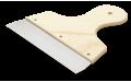 Шпатель широкий с деревянной ручкой 200 мм Anza 642020