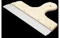 Шпатель широкий с деревянной ручкой 300 мм Anza 642030